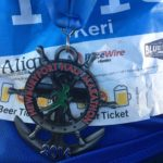 My first Half Marathon. File under: Things I never thought I could do